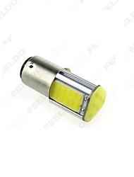 10 шт 1157 1156ba15s 4cob 42smd света сигнала поворота, резервный свет белый DC12V