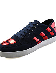 Men's Board Shoes Casual/Travel/Outdoor Fashion Sneakers Canvas Leather Shoes EU39-EU44