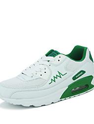 Men's Spring / Summer / Fall / Winter Round Toe Tulle / Fabric Athletic Flat Heel Walking