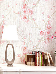 Chinese Style Wallpaper Mume Flower 3D Wallpaper Roll Non Woven Wall Paper For Living Room Bedroom Wallpapers