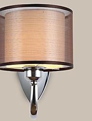 le nouveau corridor lumière de la lampe de couchette de chambre tissu chaud seule tête conduit lampe de mur