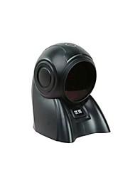 8160 laser plate-forme de numérisation plateforme de numérisation de supermarché scanner de codes barres dédié (vendu noir)