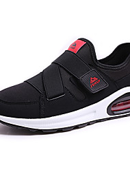 Men's Sneakers Spring / Summer / Fall / Winter Others / Comfort PU Outdoor / Casual Flat Heel Magic Tape Black / Black and RedRunning /