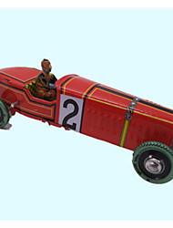 Red Nostalgic Retro Tin Toys Robot Car