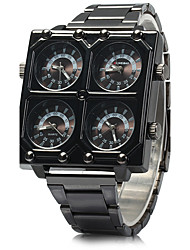 SHI WEI BAO K2061 Man 4 Movement Shows With Black Stainless Steel