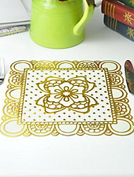 Foreign Trade Wholesale Waterproof Golden Cup Mat