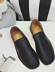 Women's Flats Spring / Summer / Fall Flats PU Casual Flat Heel Others Black / White Others