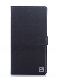 Pour Coque Huawei P9 Porte Carte Avec Support Clapet Coque Coque Intégrale Coque Couleur Pleine Dur Cuir PU pour HuaweiHuawei P9 Huawei
