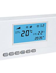 белый беспроводной сигнал дистанционного термостата
