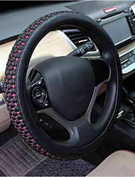 Thick Ice Wheel Sets, The New Summer, Anti-Skid, Sweat, White Car Steering Wheel Cover 55-2C\4189, Diameter 38CM