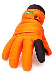 Ski-Handschuhe Unisex Sporthandschuhe warm halten Wasserdicht Windundurchlässig Skifahren Skihandschuhe