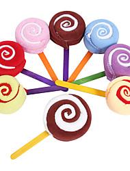Lollipop Towel Gifts for Children Festival Christmas Random Color