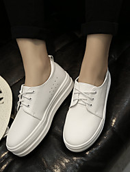 Women's Sneakers Comfort PU Casual White Gray