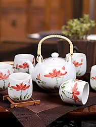 Hot Style of Jingdezhen Ceramic Tea Set
