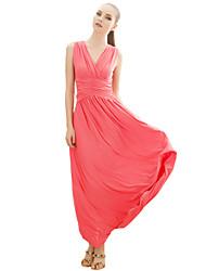 Damen Kleid Sexy / Retro / Arbeit / Leger Midi Polyester / Elasthan