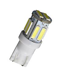 10pcs T10 W5W 192 168 194 7014 7020 10smd 10 feux de position LED 12v de lumière de coin
