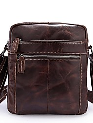 Men Cowhide Casual Shoulder Bag