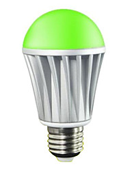 Лампа LED RGBW-цветовая холодных оттенков 27 7W 5x5050-1.5SMD R 45-75LM G 100-150 LM B:20-50LM W 400-550LM с функцией контроля через телефон (AC220V)