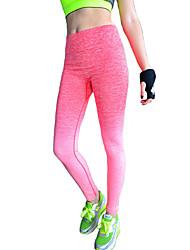 Femme Couleur Pleine Legging,Coton Polyester