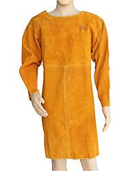 aventais de soldadura de couro de alimentação anti-quente retardador de fogo vestuário de protecção roupas soldador