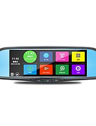 o especial de 7 polegadas carro espelho retrovisor tacógrafo voz android navegação reaview wi-fi