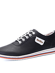 Men's Business Casual Breathable Genuine Leather Flats Shoes Man's Driving Shoes in Daily Life for Trip Or Party