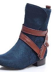 Women's Shoes    Fashion Boots Boots Outdoor / Office & Career / Casual Low Heel OthersBlack / Blue /