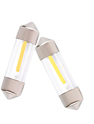 10pcs 31mm/36mm/39mm/41mm COB Reading /License Plate Light Led Filament lamp 12V DC