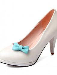 Mujer-Tacón Stiletto-Tacones / Plataforma / Confort / Innovador / Pump Básico / Puntiagudos-Tacones-Boda / Oficina y Trabajo / Vestido /
