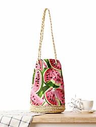 STYLE-CICI® Femme Paillette Cabas Rouge-529037237264