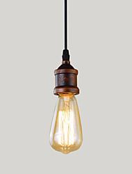 60 Lampe suspendue ,  Traditionnel/Classique Retro Rétro Rustique Autres Fonctionnalité for Style mini MétalBureau/Bureau de maison