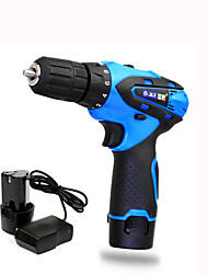Two-Speed 12V Lithium Rechargeable Drill Pistol Multifunction Home Kit