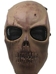 Yellow Color, Other Material Protection Accessories CS Dry Bone Game Mask