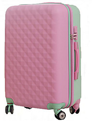 Unisex PVC Outdoor Luggage Pink / Blue / Green / Yellow / Red