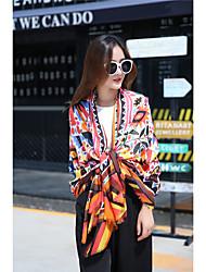 Damen Kunstseide Schal