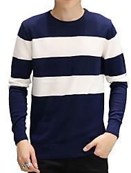 2016 male head neck sweater autumn winter sweater slim young male student thin sweater Korean tide