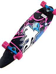 Classic Skateboard(70*42mm) Pink/Red