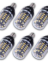 3 E14 / E12 / E26/E27 Ampoules Maïs LED T 40 SMD 5736 300 lm Blanc Chaud / Blanc Froid Décorative AC 85-265 V 6 pièces