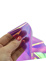 1pcs 100*4cm Nail Art DIY Glitter Shinning Beautiful Color Transfer Foil Stickers BL17
