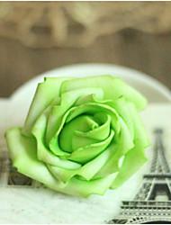 artesanato floral artesanato de casamento / aniversário 1pc, branco / vermelho / rosa / amarelo / verde / azul / roxo