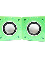 G-16 Desktop Notebook USB Mini Speaker Portable Car Speakers