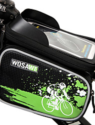 Bike Bag 2LLCell Phone Bag / Bike Frame BagWaterproof / Rain-Proof / Waterproof Zipper / Shockproof / Wearable / Touch Screen /