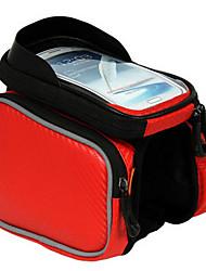 BATFOX® Bolsa de BicicletaBolsa para Bagageiro de Bicicleta / Bolsa Celular / Bolsa para Guidão de Bicicleta / Bolsa para Quadro de