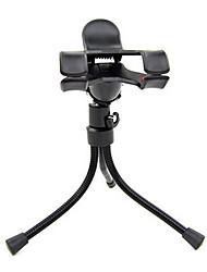 triángulo multifunción soporte para teléfono celular vago perezoso soporte para teléfono de escritorio fotografía trípode de cámara de