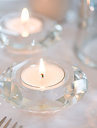 Crystal Practical Favors 1Piece/Set Diamond Tealight Candle Holder Favors Wedding Décor Beter Gifts® Home Décor