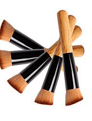 5 Rougebørste / Concealer-børste / Pudderbørste / Foundationbørste / Contour Brush Syntetisk hårReise / Miljøvennlig / Bærbar /
