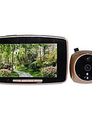 """3506 modèle 5 v résolution d'image de 200w """"oeil de puce électronique chat la sonnette"""
