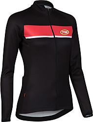 Sports Cycling Tops Women's Bike Front Zipper  / Ultra Light Fabric / Compression Long SleeveLYCRA®