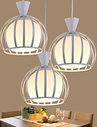 E27 The Led Glass Round Rural Contemporary And Contracted Restaurant Droplight Pendant Light