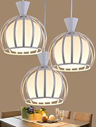 0-7W Lampe suspendue ,  Contemporain / Rustique Autres Fonctionnalité for LED / Designers MétalSalle de séjour / Chambre à coucher /
